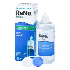 Раствор для линз Bausch+Lomb ReNu Multi Plus 360мл