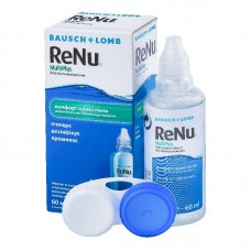 Раствор для линз Bausch+Lomb ReNu Multi Plus 60 мл